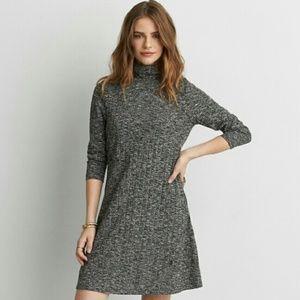 NWOT American Eagle Gray Sweater Dress Sz Large